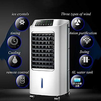 WONS Enfriador de Aire Acondicionado Portátil Del Ventilador, por Evaporación Aire Acondicionado Ventilador de Refrigeración Refrigerados por Aire Del Ventilador Si ...