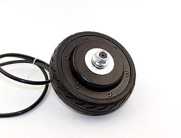 Amazon.com: L-faster 24 V/36 V 200 W 5 pulgadas rueda de ...
