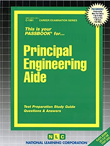 principal engineering aide passbooks career examination series rh amazon com Science Study Guide Police Study Guide