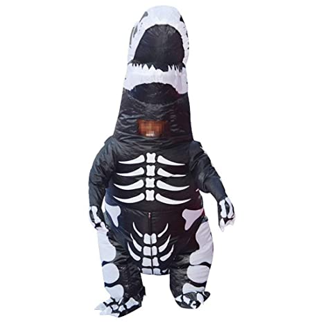 KODH Inflable Adultos Traje de Halloween Dinosaurio Inflable ...
