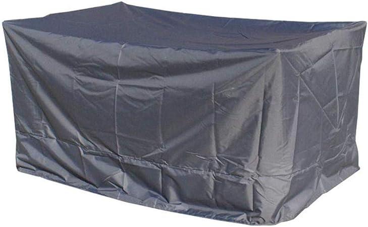QIANCHENG-tarpaulins Funda Protectora Muebles Jardín Cubierta Exterior Al Aire Libre Protector De Polvo Tela Oxford, 5 Tallas, Personalizable Lona Impermeable,Grey-170x100x70cm: Amazon.es: Hogar