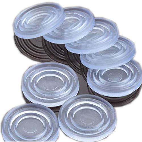 25pieza Almohadillas protectoras de cristal para parte superior de la mesa antideslizantes