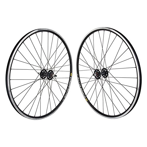 Mavic CXP Elite 700c Black Single speed Track Bike Wheelset Formula hubs DT