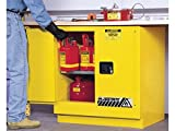 Sure-Grip EX Undercounter Flammable Safety Cabinet, Cap. 22 gallons, 1 Shelf, 2 m/c Doors