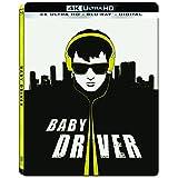 Baby Driver Steelbook - 4K UHD/Blu-ray/UltraViolet