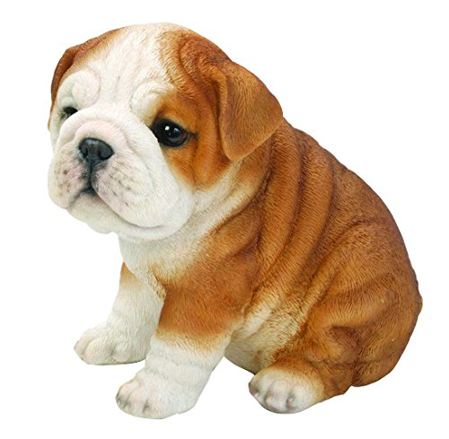 Hi-Line Sitting Bulldog Puppy Figurine ()