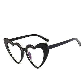 LLLM Gafas de sol Corazón Gafas de Sol Mujeres diseñador de ...