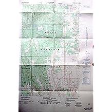 Map: Wildcat Hills Alberta