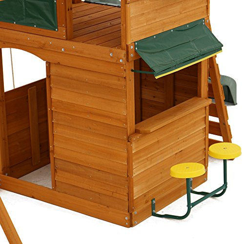 Big Backyard F270855 Ridgeview Clubhouse Deluxe Play Set by Big Backyard (Image #5)