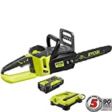 Ryobi RY40511 40V Cordless Brushless Lithium-Ion 14 in. Chainsaw Review