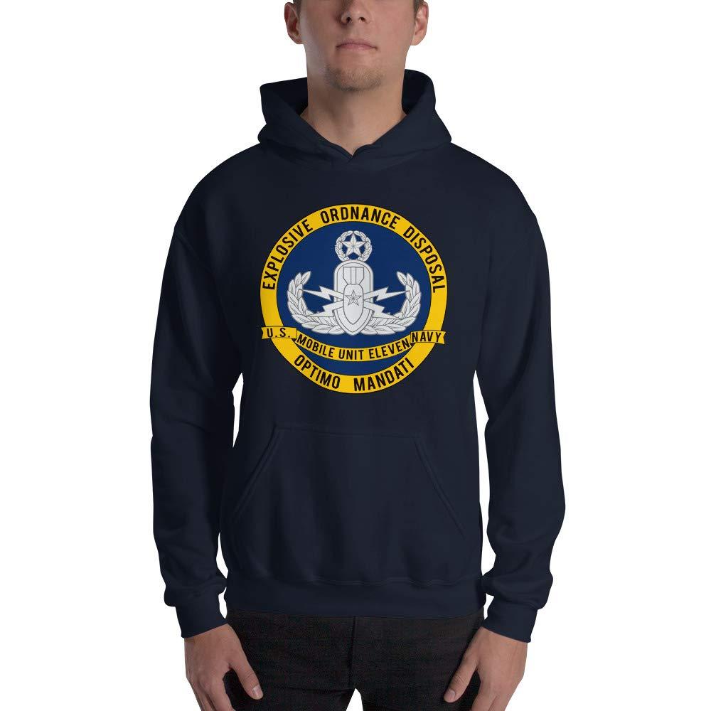 Explosive Ordnance Disposal EOD Mobile Unit 11 Hooded Sweatshirt EODMU 11