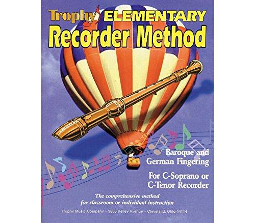 Elementary Recorder - Trophy Elementary Recorder Method