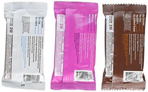 Large Product Image of RX Bar New Flavor Variety Pack | Chocolate Peanut Butter, Mixed Berry, Chocolate Chip | 12 Bars