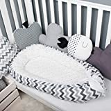 Double sided Baby nest bed portable crib lounger baby bassinet co sleeper babynest babynest bed travel pad pod for newborn