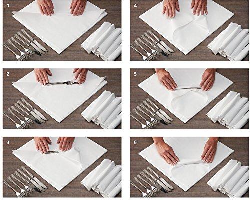 Hoffmaster 125023 Dinner Napkins, 2-Ply, 16 x 16, White (Case of 1000)