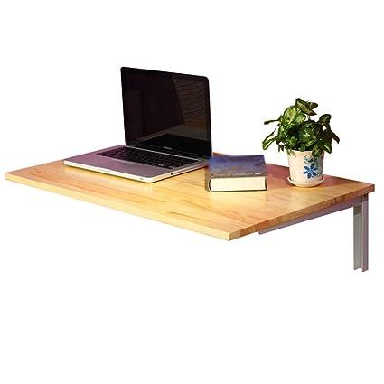 Amazon.com: DTTX Escritorio plegable para ordenador, mesa ...
