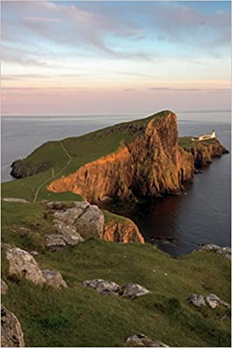 150 page lined notebook//diary Neist Point Isle of Skye Scotland Journal