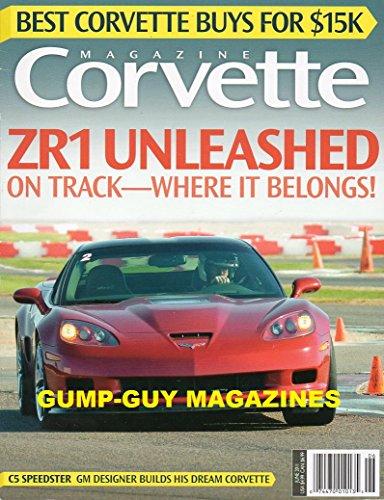 Corvette Magazine June 2011 (Car Corvette Vette Magazine)