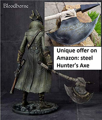 Guild Wars Cosplay Costumes - The Hunter's Axe, Bloodborne, prop, replica,