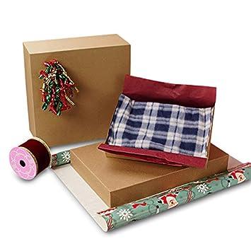 Papel Kraft reciclado cajas de prendas de vestir 45 Count Tamaño 17 x 11 x 2 - 1/2: Amazon.es: Hogar