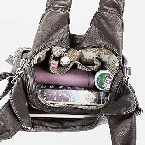 Grey A Tracolla Per Grande Coafit Borsa Donna Minimalista 6f8qgx