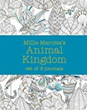 Millie Marotta's Animal Kingdom - journal set: 3 notebooks