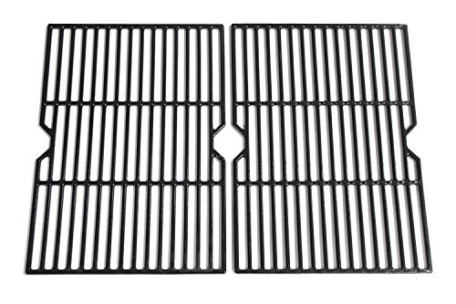 - Hongso PCF652 (2-Pack) Porcelain Coated Cast Iron Cooking Grid Replacement for Select Gas Grill Models by Charbroil, Coleman, CG-65P-CI, Set of 2 (Renewed)
