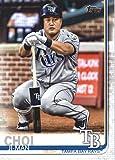 2019 Topps #423 Ji-Man Choi Tampa Bay Rays Baseball Card