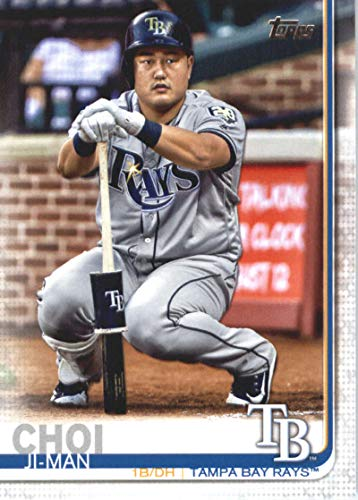 (2019 Topps #423 Ji-Man Choi Tampa Bay Rays MLB Baseball Trading Card)