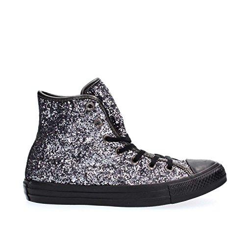 Star Alte Sneaker Hi Grigio Donna Glitter Converse 7pqCnHx