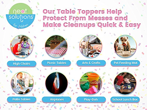 Neat Solutions Sesame Street Table Topper Disposable Stick-in-Place Placemats - 30 Count by Sesame Street (Image #5)