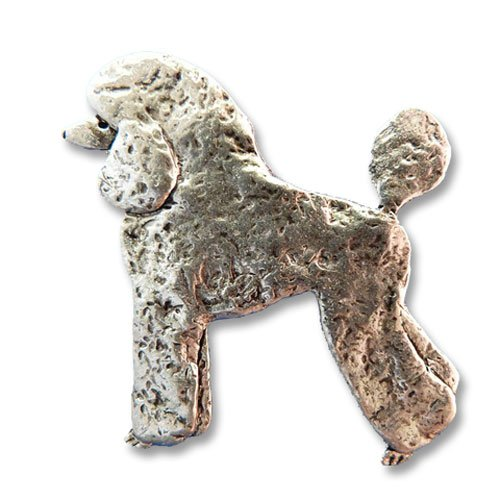 hot sell Pewter Poodle Pin by The Magic Zoo supplies