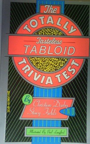 The Totally Tasteless Tabloid Trivia Test (094400766X 1961264) photo