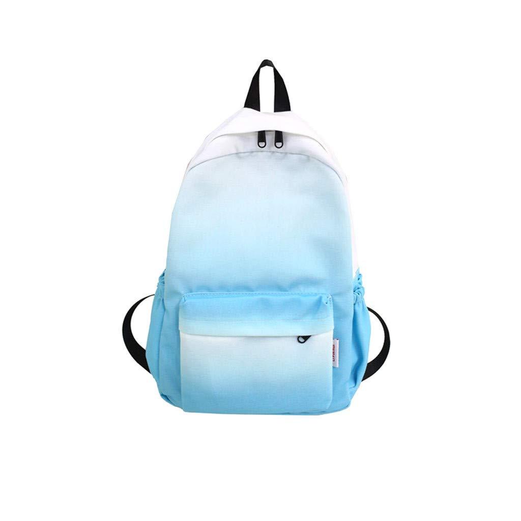 Arrowsy Women Bag Woven Colorful Bag Texture Wild Explosions Handbags Fashion Messenger (Blue)