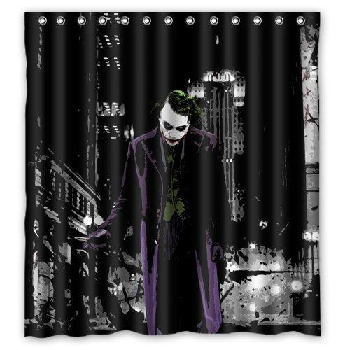 Mirryderr ScottShop Custom Batman Joker Bathroom Shower Curtains Waterproof/Drape/Polyester -