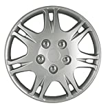 Hubcap for Mitsubushi Galant (Single Piece) Wheel Cover - 15 Inch Silver Replacement
