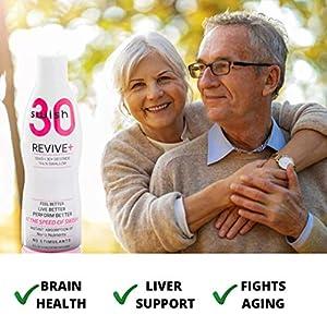 Swish30 Revive+ Recovery Supplement, Glutathione & Antioxidants (2oz)
