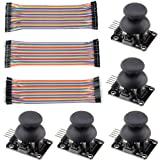 WMYCONGCONG 5 PCS Joystick Breakout Module Game Controller for Arduino PS2 + 120 PCS Multicolored Breadboard