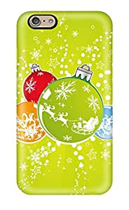 High-quality Durability Case For Iphone 6(bright Christmas Balls )