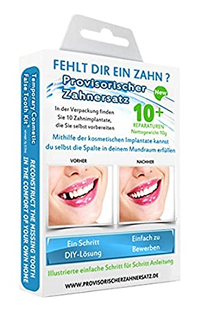 Missing tooth temporary cosmetic teeth kit amazon diy tools solutioingenieria Images