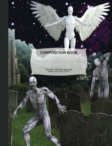 Zombie Apocalypse Composition Notebook, Wide Ruled: Lined Student Exercise Book PDF ePub book