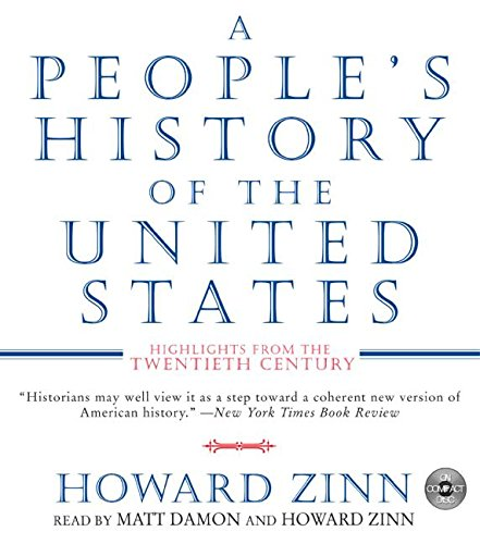 A People's History of the United States CD