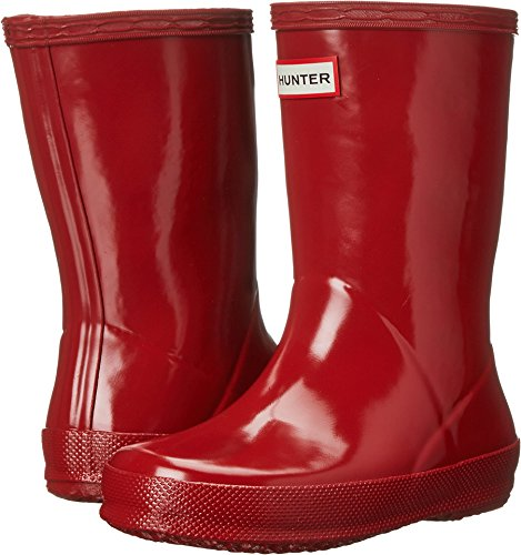 (Hunter Kids' First Gloss (Toddler), Military Red 9)