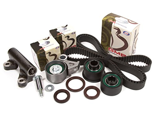 Evergreen TBK214H Fits 92-02 Mazda 626 MX-6 Ford 1.8L 2.5L DOHC V6 Timing Belt Kit ()