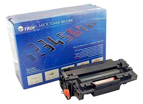 Troy Micr Toner - Troy M607/M608/M609 MICR Toner Secure Cartridge Yield Approximately 11,000 Pages