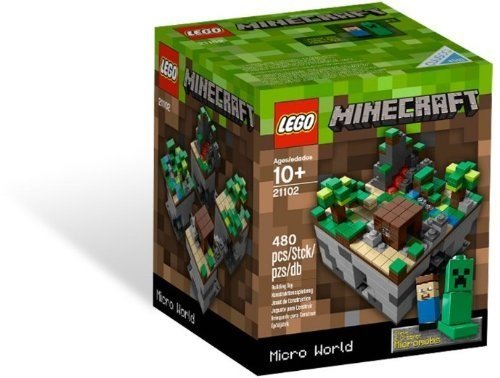 LEGO Minecraft, Micro World 21102 (Discontinued by - Lego Halo Small Sets