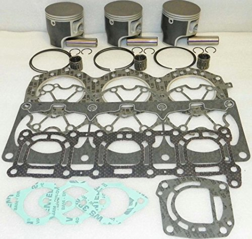 (NEW PLATINUM REBUILD KIT FITS .25MM OVER YAMAHA WAVE 95-96 RAIDER 1996-1997 VENTURE)