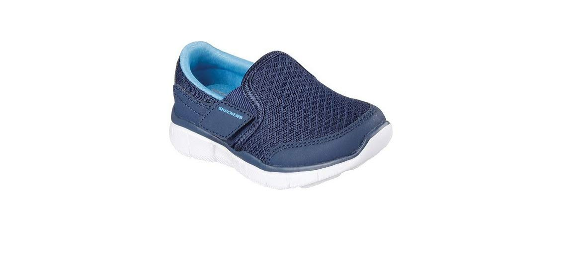 Skechers Boy's Equaliser Persistant Trainers 10 Child Blue