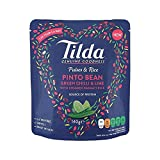 Tilda Pulses & Rice Pinto Bean, Chilli & Lime 140g - Pack of 4