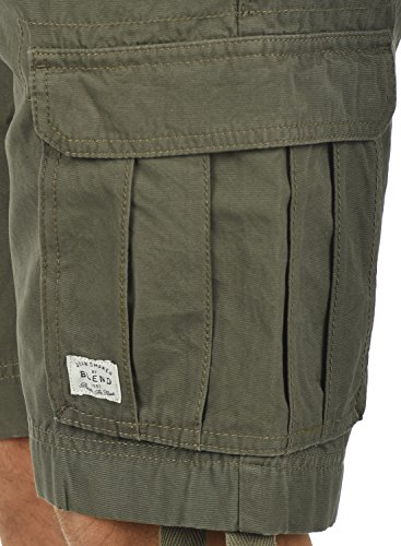 70595 Regular 100 Shorts Pantaloncini Cotone Blend Green Cargo Kolo Dusty Fit Da Bermuda Corti Uomoin Pantaloni ZCqUBaxn